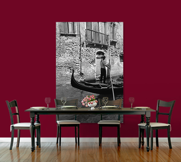 THE GONDOLIER EXTRA LARGE PRINT